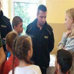 Spotkanie policjantów z uczniami